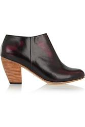 Dieppa Restrepo Camilla Printed Leather Ankle Boots