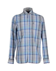 Murphy And Nye Shirts Shirts Men Azure