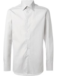 E. Tautz Cutaway Collar Shirt Nude And Neutrals