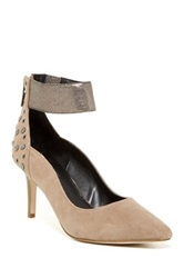 Kenneth Cole Reaction Bill Ding Ankle Strap Pump Beige