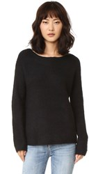 Bb Dakota Vale Fuzzy Sweater Black