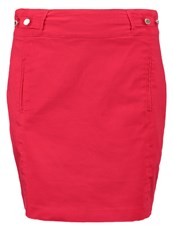 Morgan Jalia Mini Skirt Groseille Red