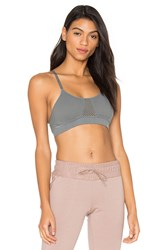 Free People Law Of Attraction Sports Bra Gray