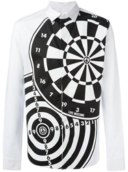 Love Moschino Printed Shirt White