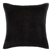 Amara Collins Velvet Pillow 60X60cm Black