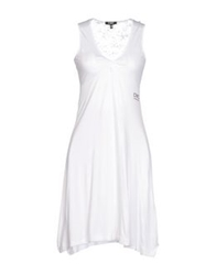 Cnc Costume National C'n'c' Costume National Short Dresses White