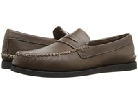 Sperry A O Wedge Penny Brown Men's Lace Up Moc Toe Shoes