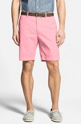 Men's Big And Tall Bobby Jones Stretch Cotton Flat Front Shorts Pink Carnation