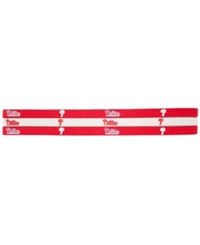 Little Earth Philadelphia Phillies 3 Pack Elastic Headbands Team Color