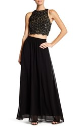 Ali And Jay Sequin 2 Piece Set Black