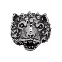 Emanuele Bicocchi Silver Themed Ring