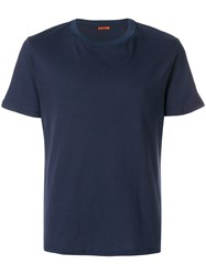 Barena Crew Neck T Shirt Blue