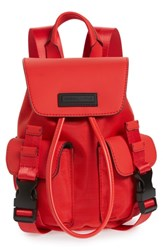 Kendall Kylie Mini Parker Water Resistant Backpack Red