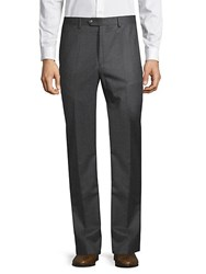 Todd Snyder Solid Wool Trousers Medium Grey