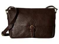Scully Catalina Messenger Bag Brown Messenger Bags