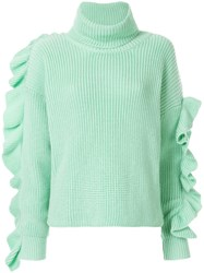 Anna October Turtlneck Jumper Green