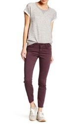 Genetic Denim Shya Cropped Skinny Jean Purple