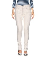 Squad Squad2 Denim Denim Trousers Ivory