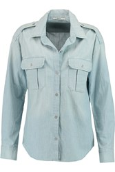 J Brand Edie Denim Shirt Blue