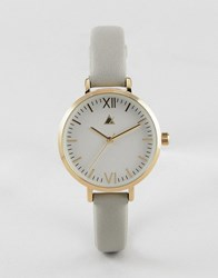 Asos Curve Minimal Gold And Grey Watch