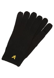 Lyle And Scott Gloves True Black