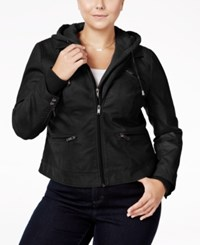 American Rag Trendy Plus Size Layered Look Jacket Only At Macy's Classic Black