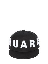 Dsquared Embroidered Cotton Canvas Baseball Hat