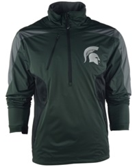 Antigua Men's Michigan State Spartans Discover Half Zip Pullover Jacket
