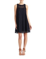 Donna Morgan Lace Tent Dress Midnight