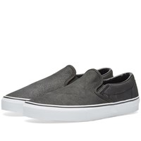 Vans Classic Slip On Premium Black