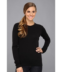 Icebreaker Oasis Long Sleeve Crewe Black Women's Long Sleeve Pullover