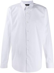 Theory Long Sleeved Shirt White