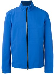 Z Zegna Zip Jacket Blue