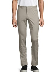J. Lindeberg Classic Slim Fit Stretch Pants Beige