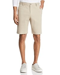 Bloomingdale's The Men's Store At Twill Regular Fit Shorts 100 Exclusive Stone