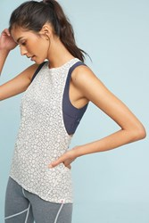 Anthropologie Vimmia Dash Tank Neutral Motif