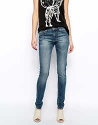 Weekday Saturday Skinny Jeans Blue