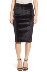 Women's Leith Velour Pencil Skirt