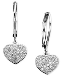 Eliot Danori Earrings Crystal Heart