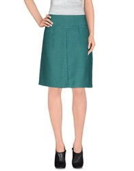 Laura Urbinati Skirts Knee Length Skirts Women Green