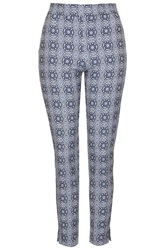 Orson Printed Trousers By Tfnc Blue