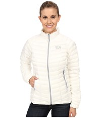 Mountain Hardwear Ghost Whisperer Down Jacket White Women's Coat