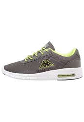 Kappa Cello Sports Shoes Anthra Lime Anthracite