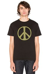 The Hill Side Peace Sign Black