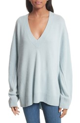 Rag And Bone Women's Ace Cashmere Sweater Blue