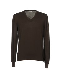 Gran Sasso Sweaters Dark Brown