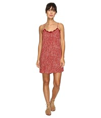 Volcom Rio Grand Mini Dress Bark Brown Women's Dress