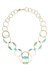 Ippolita Prisma 18 Karat Gold Multi Stone Necklace One Size Gbp