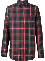 321 Checked Classic Shirt Green