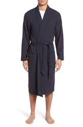Nordstrom Men's Men's Shop Thermal Robe Navy